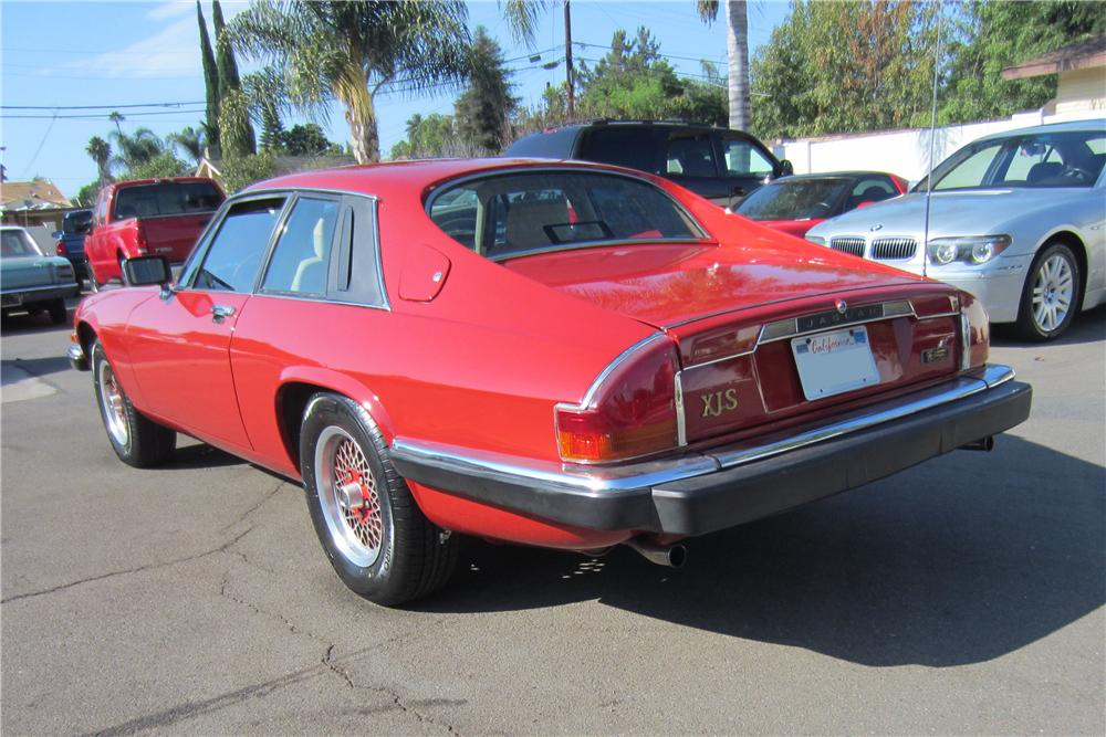 1989 JAGUAR XJS CUSTOM 2 DOOR COUPE - Rear 3/4 - 157958