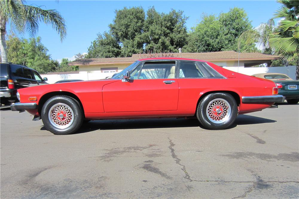 1989 JAGUAR XJS CUSTOM 2 DOOR COUPE - Side Profile - 157958