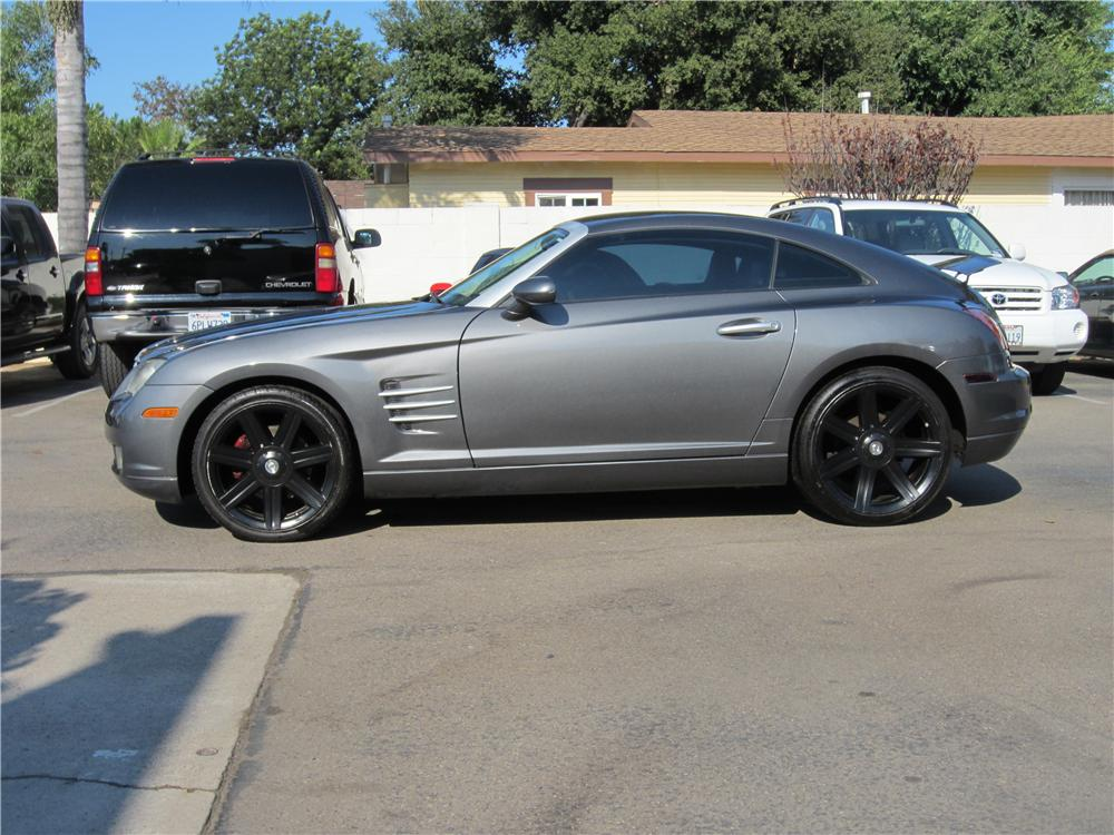 2004 CHRYSLER CROSSFIRE 2 DOOR COUPE - Side Profile - 157961