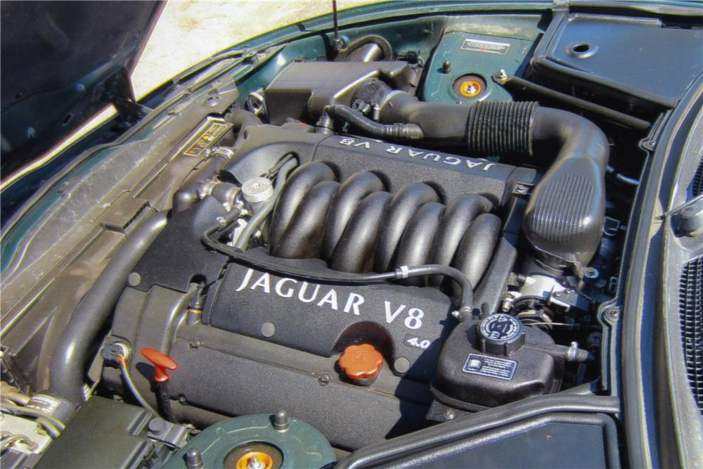 1999 JAGUAR XK8 CONVERTIBLE - Engine - 157962
