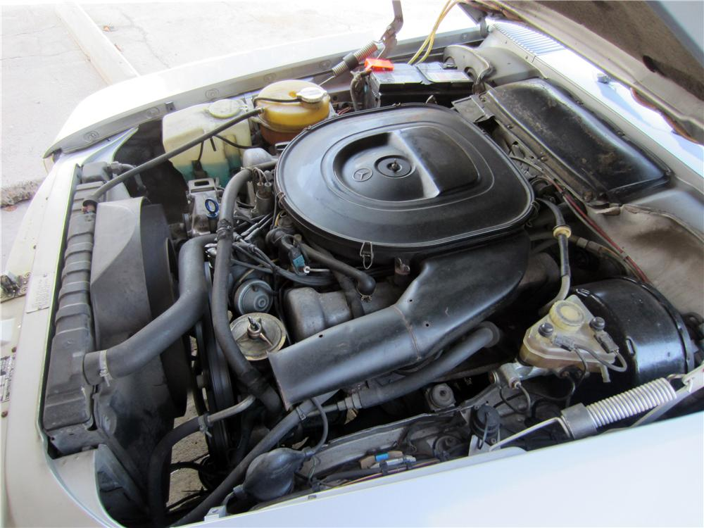 1979 MERCEDES-BENZ 350SL CONVERTIBLE - Engine - 157963