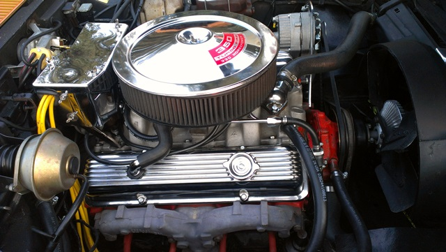 1971 CHEVROLET CORVETTE 2 DOOR COUPE - Engine - 157965