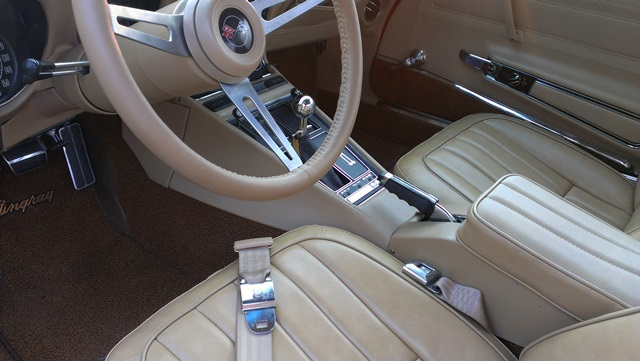 1971 CHEVROLET CORVETTE 2 DOOR COUPE - Interior - 157965