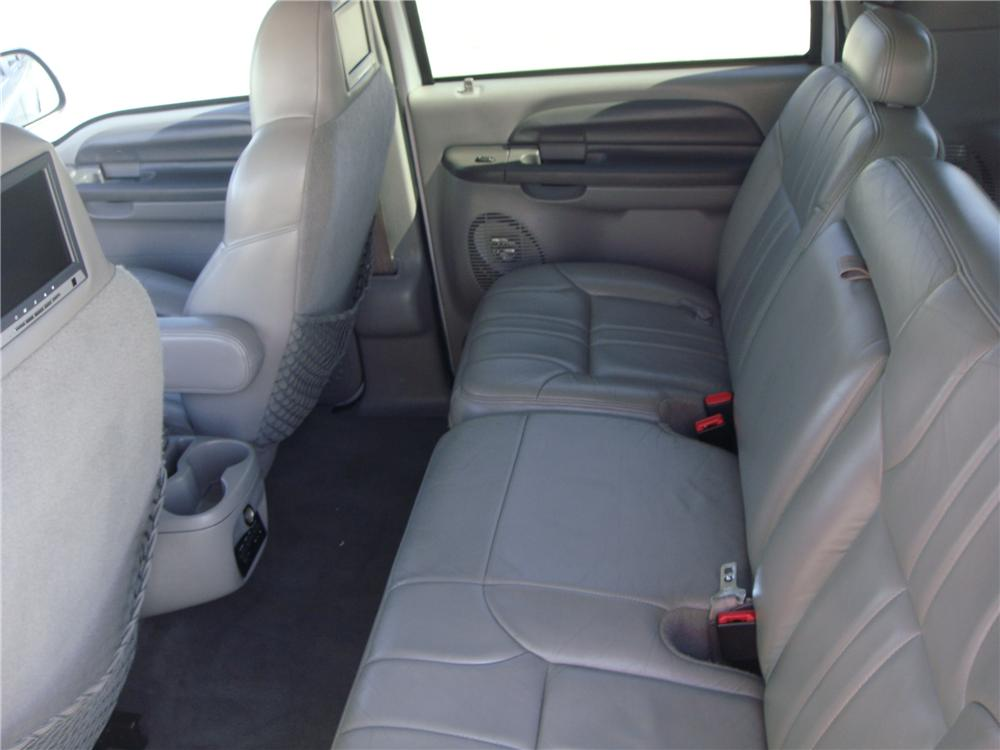 2000 FORD EXCURSION CUSTOM SUV - Interior - 157968