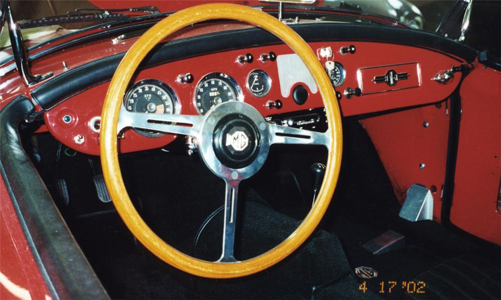 1957 MG A CONVERTIBLE - Interior - 15797