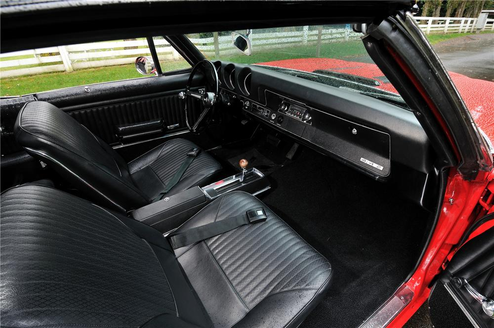 1968 OLDSMOBILE CUTLASS 442 CONVERTIBLE - Interior - 157972