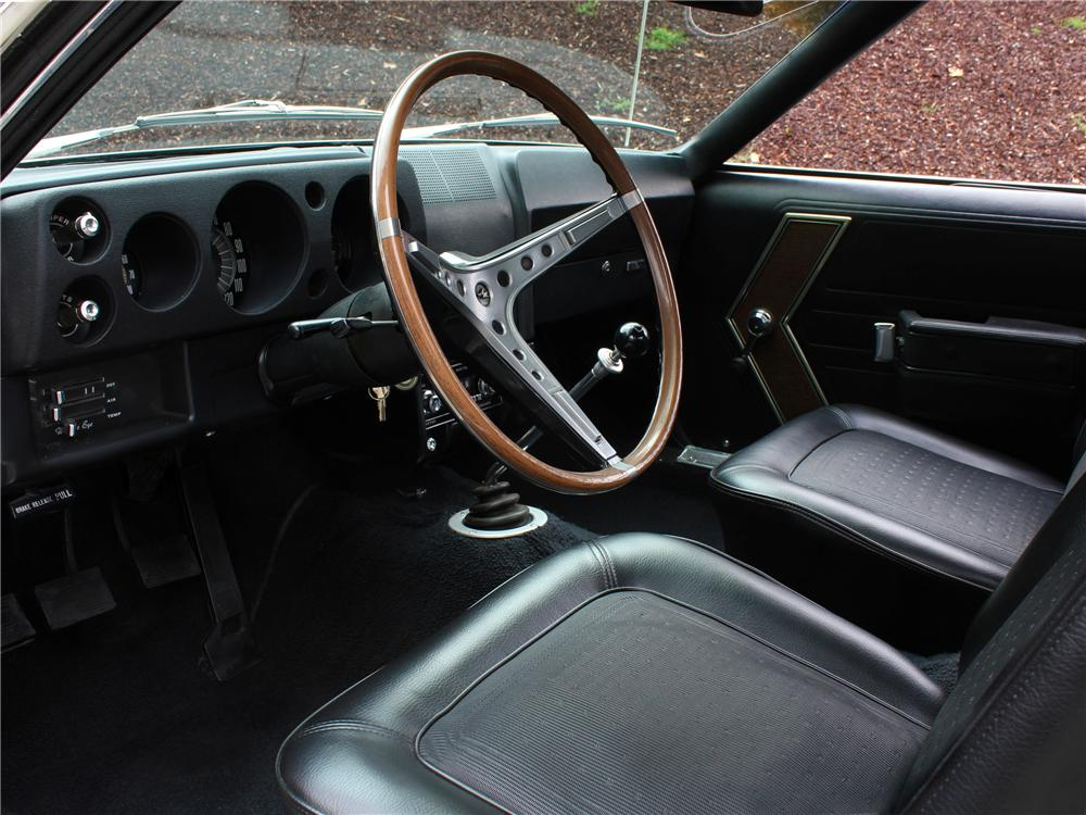 1968 AMERICAN MOTORS AMX 2 DOOR COUPE - Interior - 157974