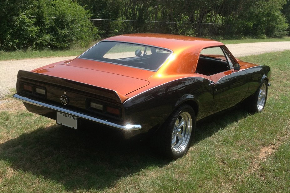 1967 CHEVROLET CAMARO CUSTOM 2 DOOR COUPE - Rear 3/4 - 157980