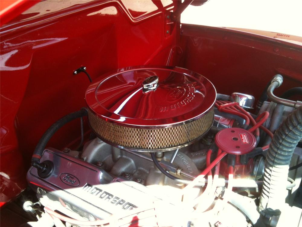 1948 FORD F-1 CUSTOM PICKUP - Engine - 157981