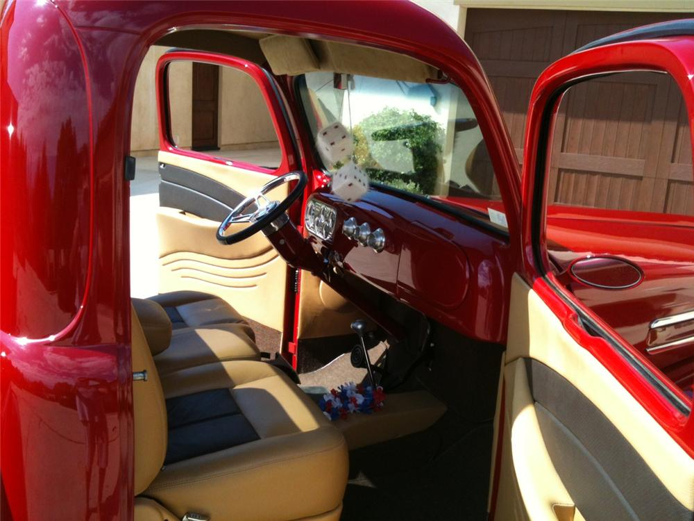 1948 FORD F-1 CUSTOM PICKUP - Interior - 157981