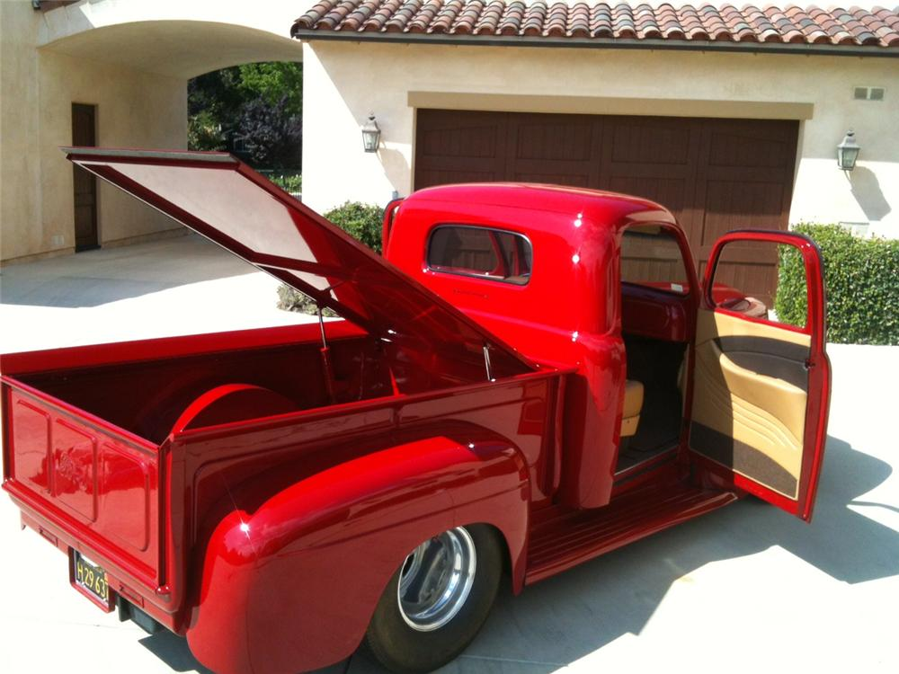 1948 FORD F-1 CUSTOM PICKUP - Rear 3/4 - 157981