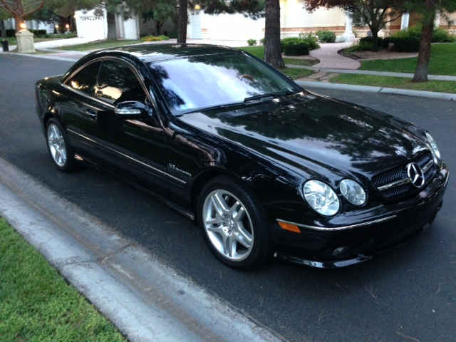 2004 MERCEDES-BENZ CL55 AMG 2 DOOR COUPE - Front 3/4 - 157984