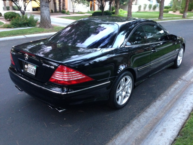 2004 mercedes benz cl55 amg 2 door coupe 157984. Black Bedroom Furniture Sets. Home Design Ideas