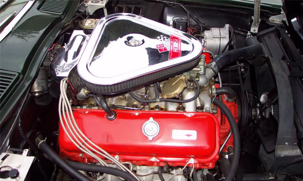 1967 CHEVROLET CORVETTE 427/435 COUPE - Engine - 15812