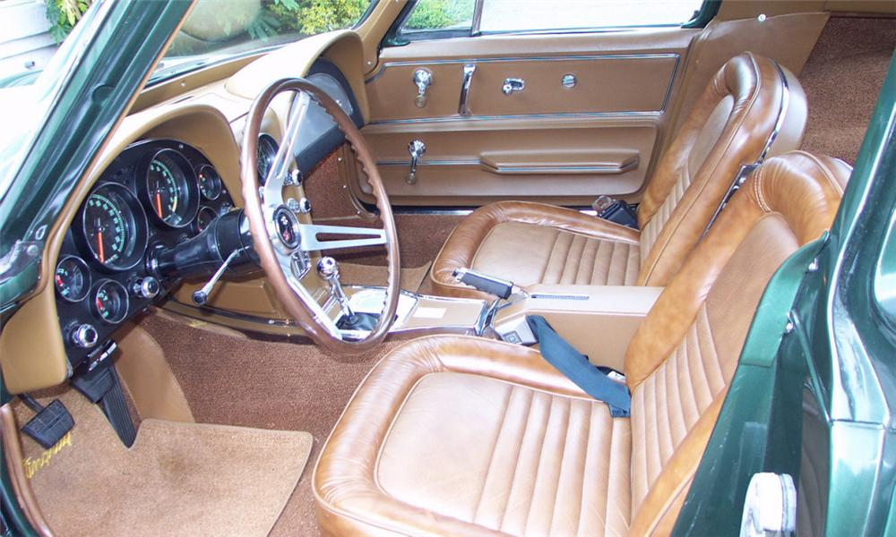 1967 CHEVROLET CORVETTE 427/435 COUPE - Interior - 15812