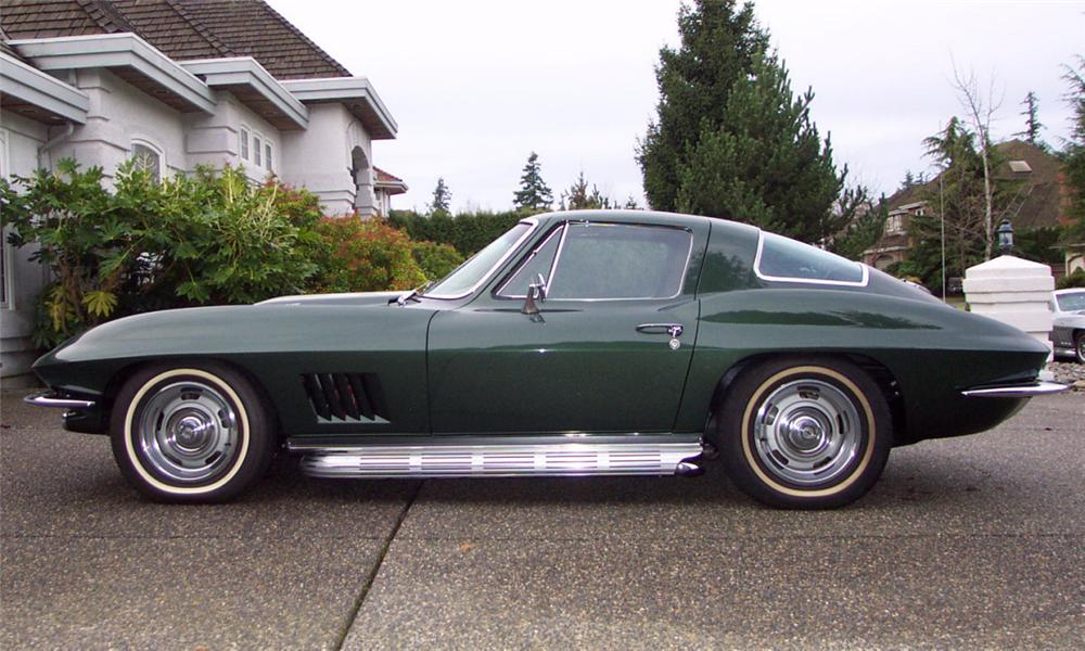 1967 CHEVROLET CORVETTE 427/435 COUPE - Side Profile - 15812