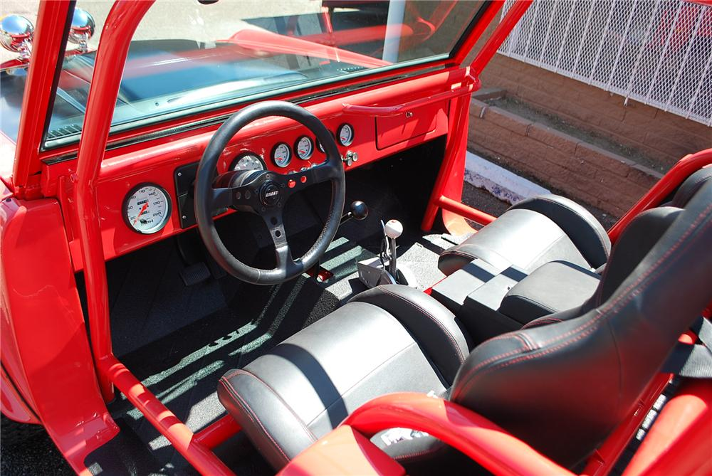 1974 FORD BRONCO CUSTOM ROADSTER - Interior - 158127