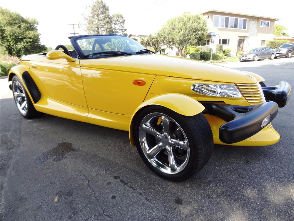 2002 CHRYSLER PROWLER ROADSTER - Front 3/4 - 158144