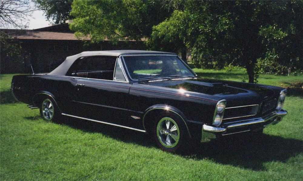 1965 PONTIAC GTO CONVERTIBLE - Side Profile - 15816