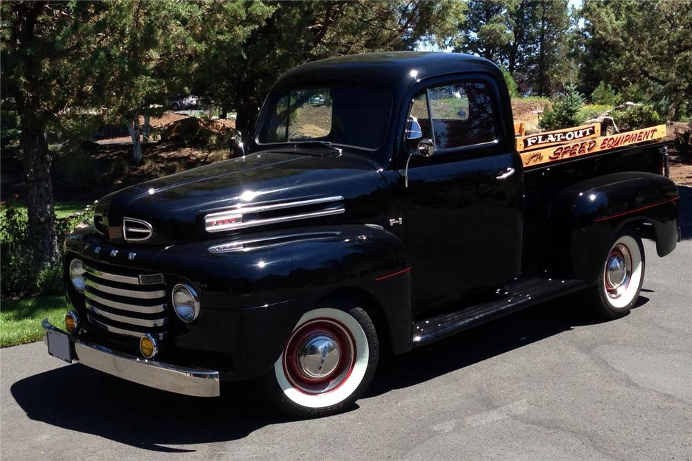 1950 FORD F-1 PICKUP - Front 3/4 - 158167