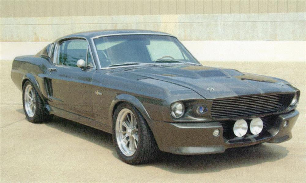 1967 FORD MUSTANG GT500 ELEANOR RE-CREATION - Front 3/4 - 15817