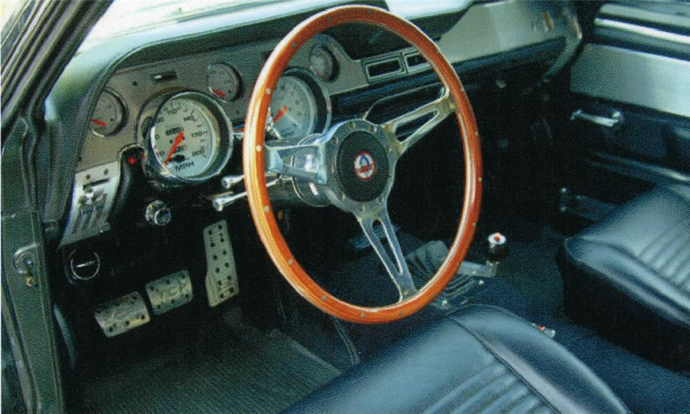 1967 FORD MUSTANG GT500 ELEANOR RE-CREATION - Interior - 15817