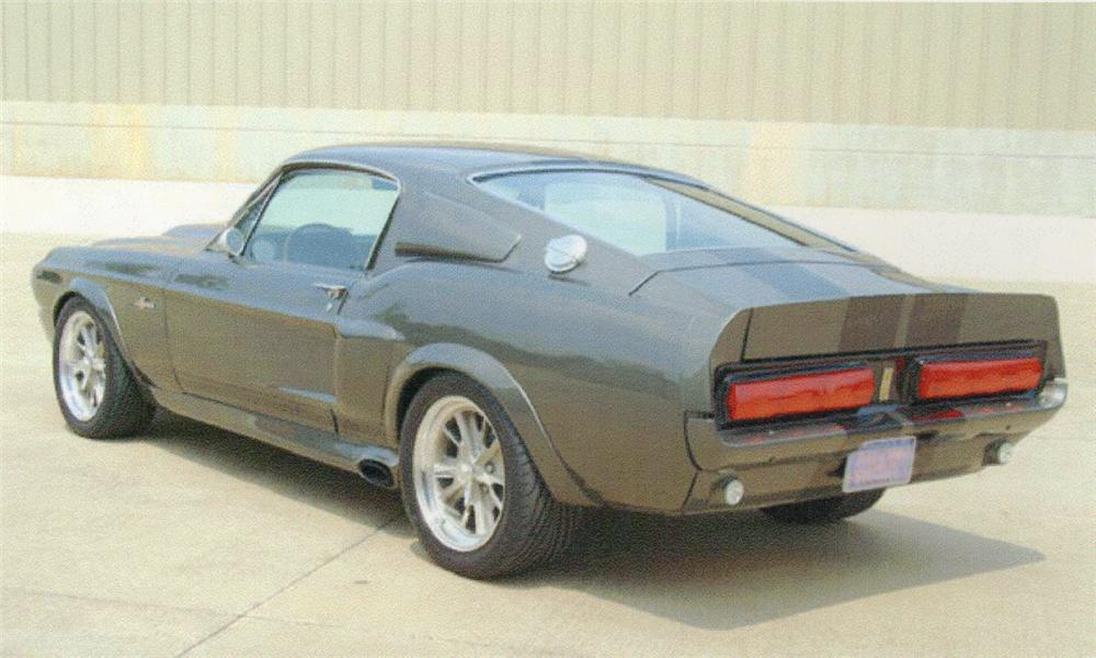 1967 FORD MUSTANG GT500 ELEANOR RE-CREATION - Rear 3/4 - 15817