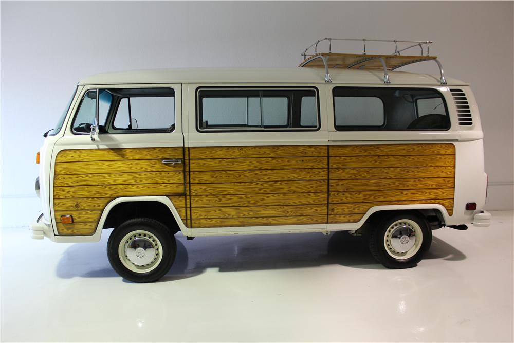 1979 Volkswagen Bay Window Custom Woody Bus 158179