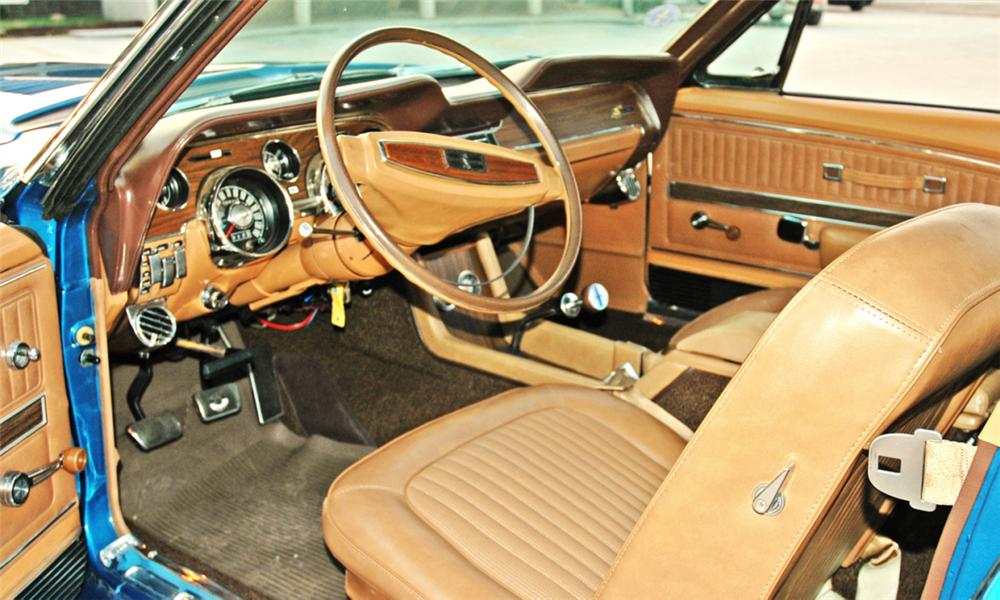 1968 SHELBY GT500 CONVERTIBLE - Interior - 15818