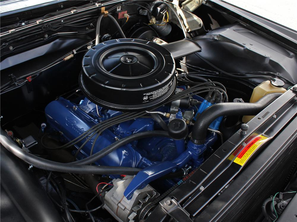 1965 CADILLAC DE VILLE CONVERTIBLE - Engine - 158186