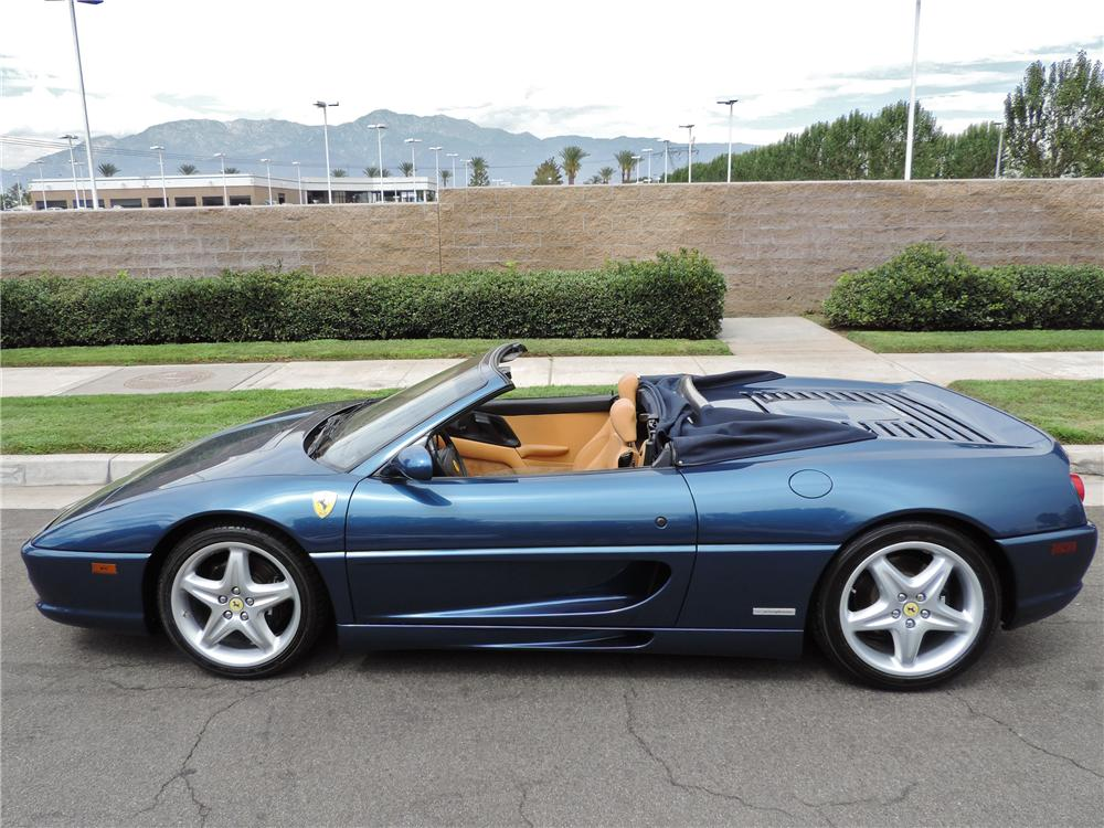 1998 ferrari f355 f1 spider 158192. Black Bedroom Furniture Sets. Home Design Ideas