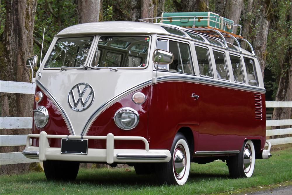 1967 volkswagen 21 window micro bus 158193