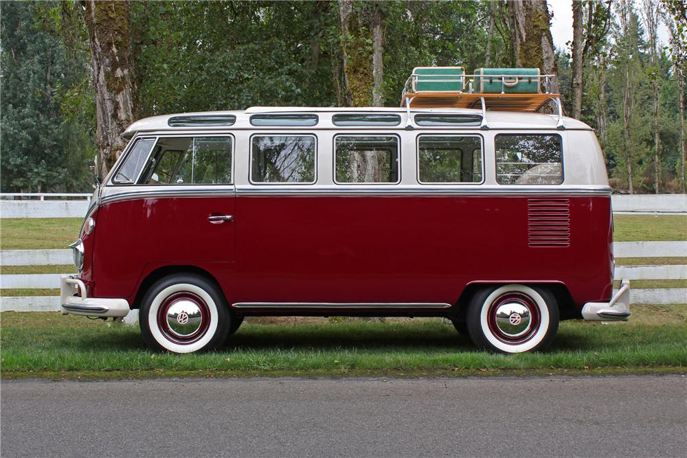 1967 VOLKSWAGEN 21 WINDOW MICRO BUS