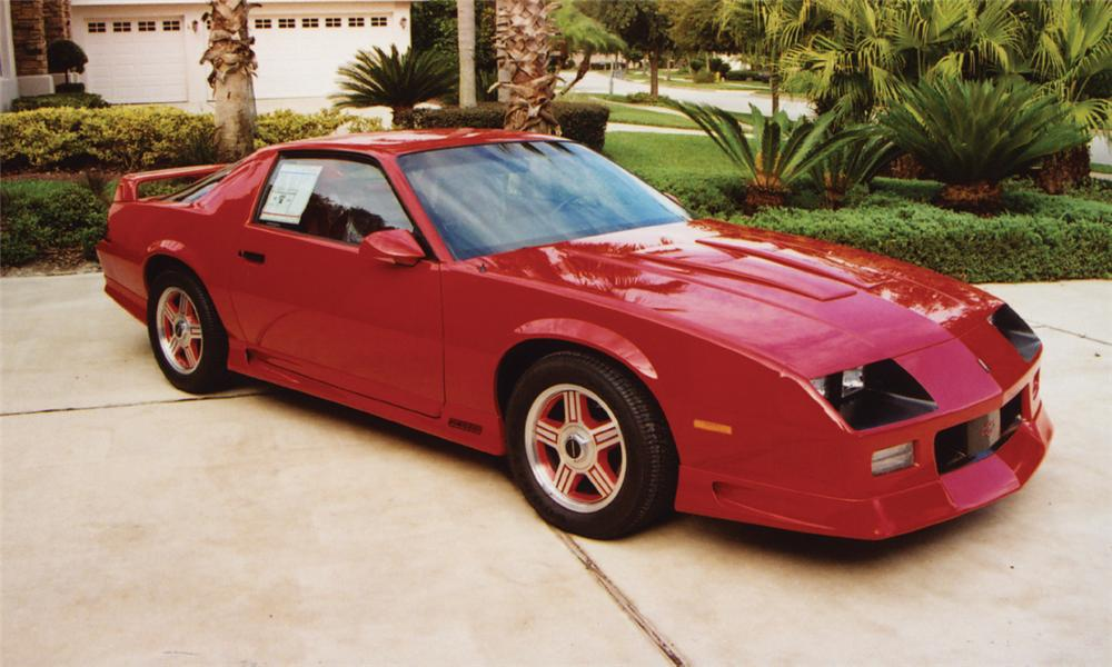 1991 CHEVROLET CAMARO Z/28 COUPE - Front 3/4 - 15820