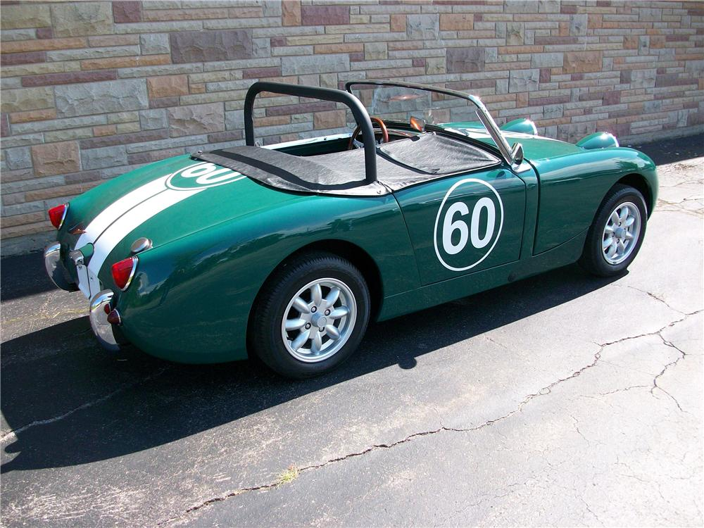 1960 AUSTIN-HEALEY SPRITE BUGEYE CONVERTIBLE - Rear 3/4 - 158256