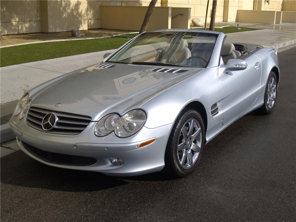 2003 mercedes benz sl500 convertible 158291