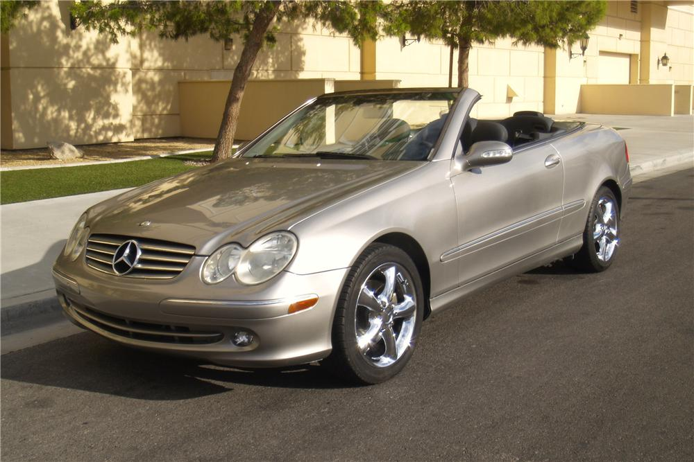 2004 mercedes benz clk 320 convertible 158299. Black Bedroom Furniture Sets. Home Design Ideas
