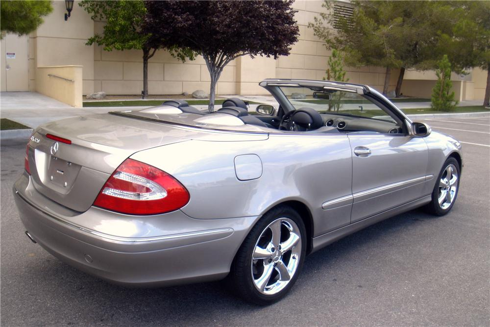 2004 mercedes benz clk 320 convertible 158299 for Mercedes benz clk 320