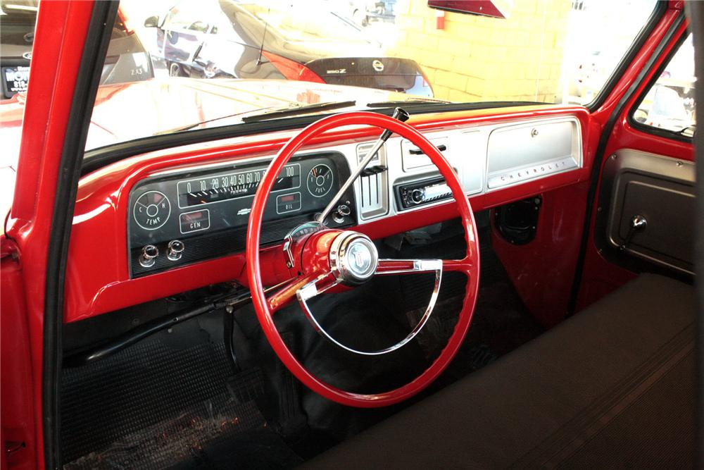 1965 CHEVROLET C-10 CUSTOM PICKUP - Interior - 158321
