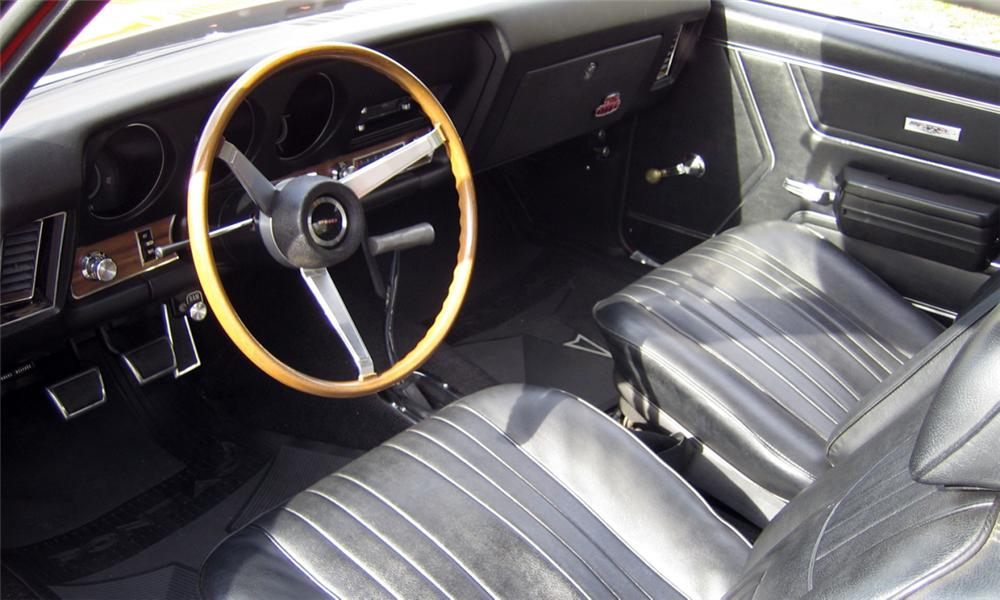 1969 PONTIAC GTO JUDGE 2 DOOR HARDTOP - Interior - 15833