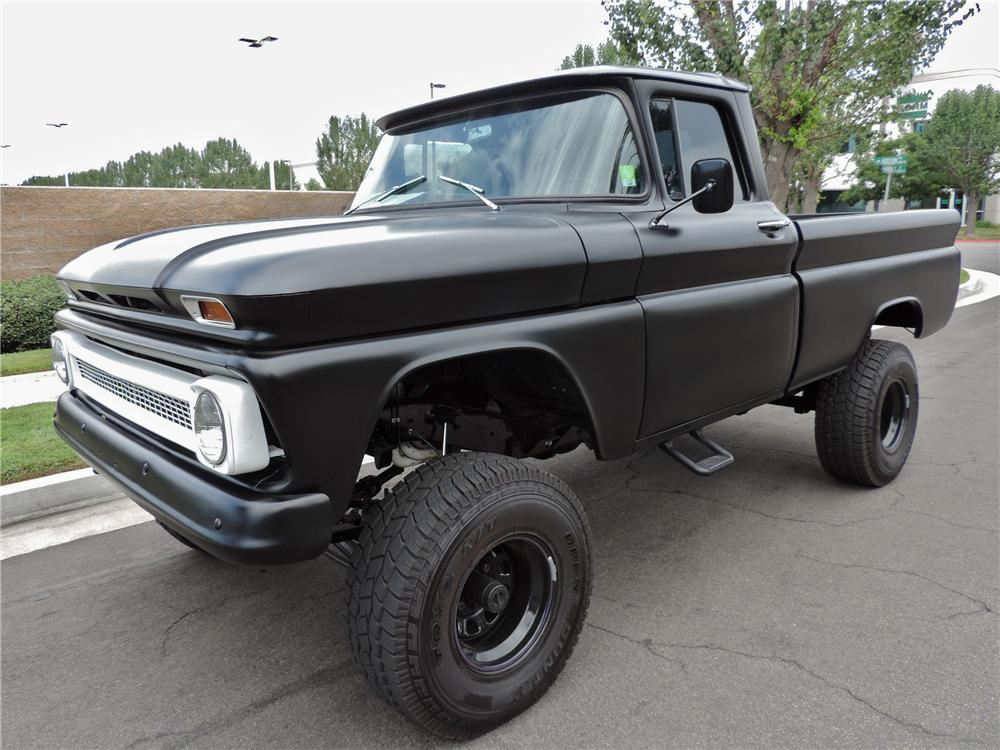 1963 CHEVROLET CUSTOM 4X4 PICKUP - Front 3/4 - 158330