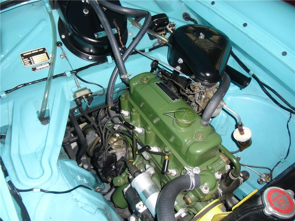 1959 METROPOLITAN CONVERTIBLE - Engine - 158345