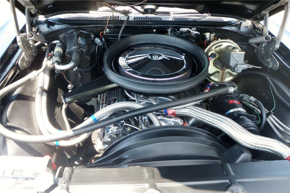 1971 CHEVROLET EL CAMINO PICKUP - Engine - 158361