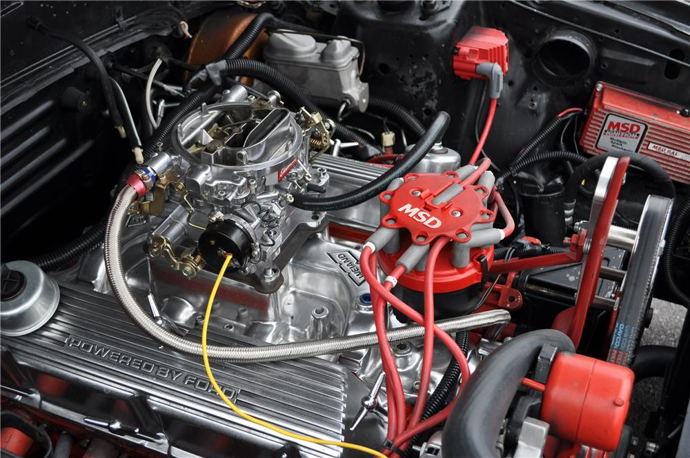 1983 FORD MUSTANG GT CUSTOM CONVERTIBLE - Engine - 158382