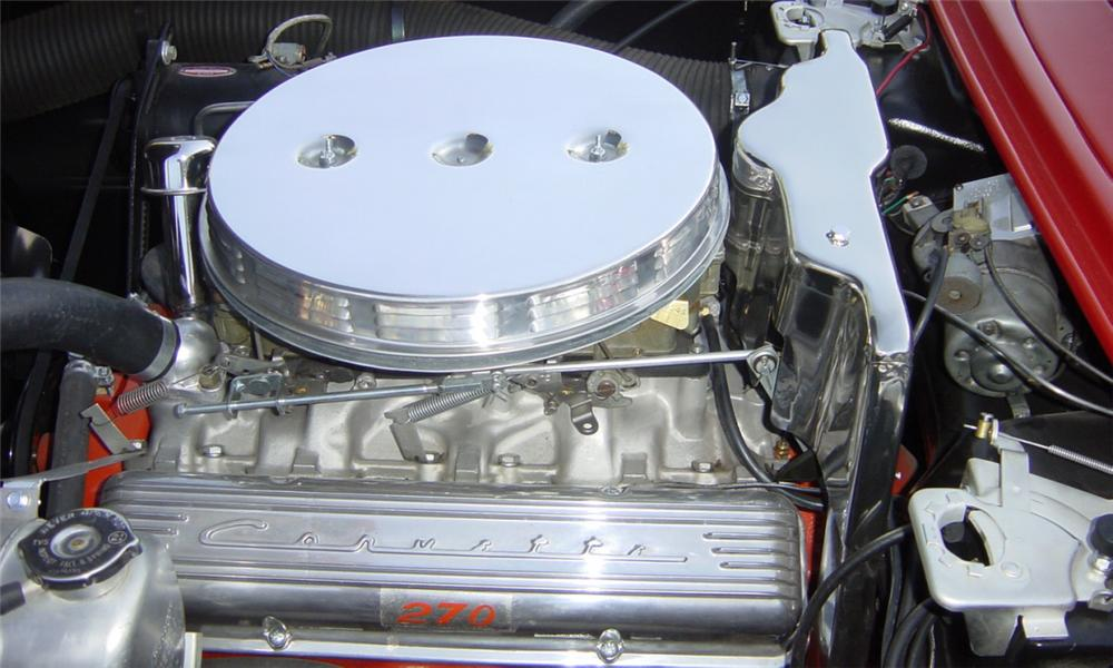 1961 CHEVROLET CORVETTE CONVERTIBLE - Engine - 15839
