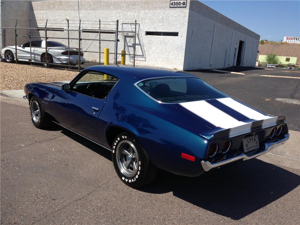 1973 CHEVROLET CAMARO RS 2 DOOR COUPE - Rear 3/4 - 158397