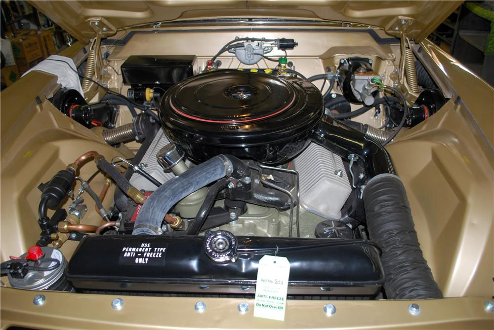 1957 LINCOLN CONTINENTAL MARK II 2 DOOR COUPE - Engine - 158406