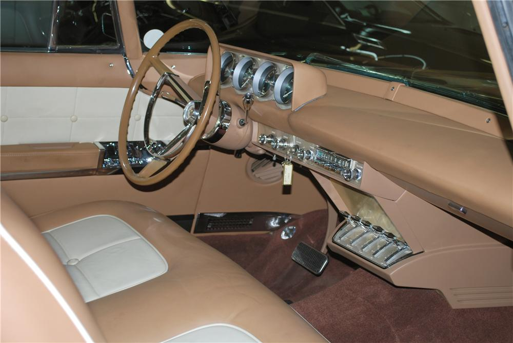 1957 LINCOLN CONTINENTAL MARK II 2 DOOR COUPE - Interior - 158406