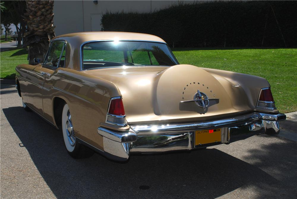 1957 LINCOLN CONTINENTAL MARK II 2 DOOR COUPE - Rear 3/4 - 158406