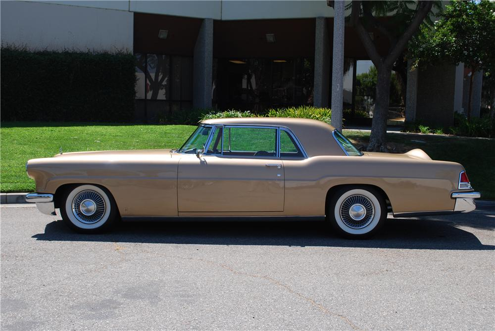 1957 LINCOLN CONTINENTAL MARK II 2 DOOR COUPE - Side Profile - 158406